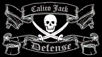 Calico Jack Defense Custom Shirts & Apparel